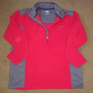 Columbia half zip jacket.   Size XL